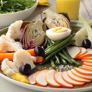 Emincés surimi légumes