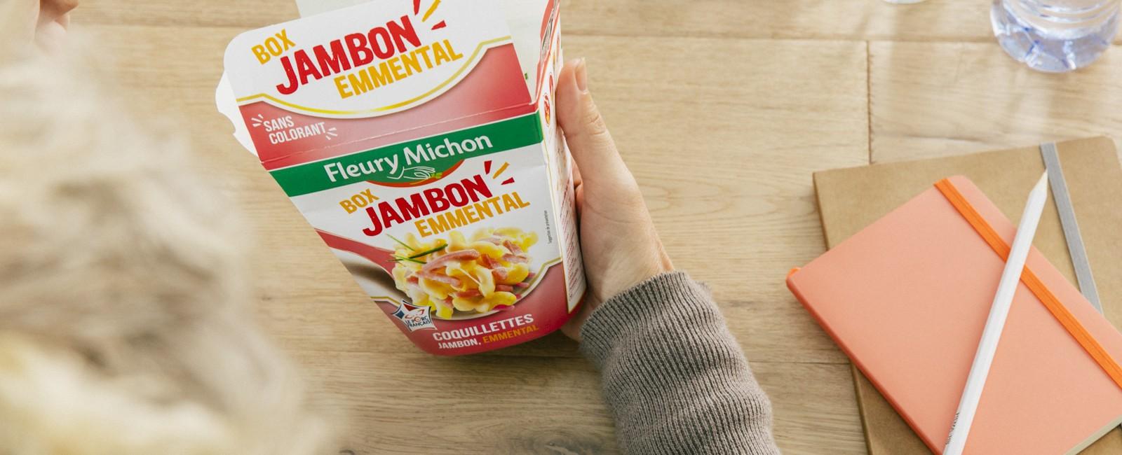 envies box cheesy jambon produits fleury michon