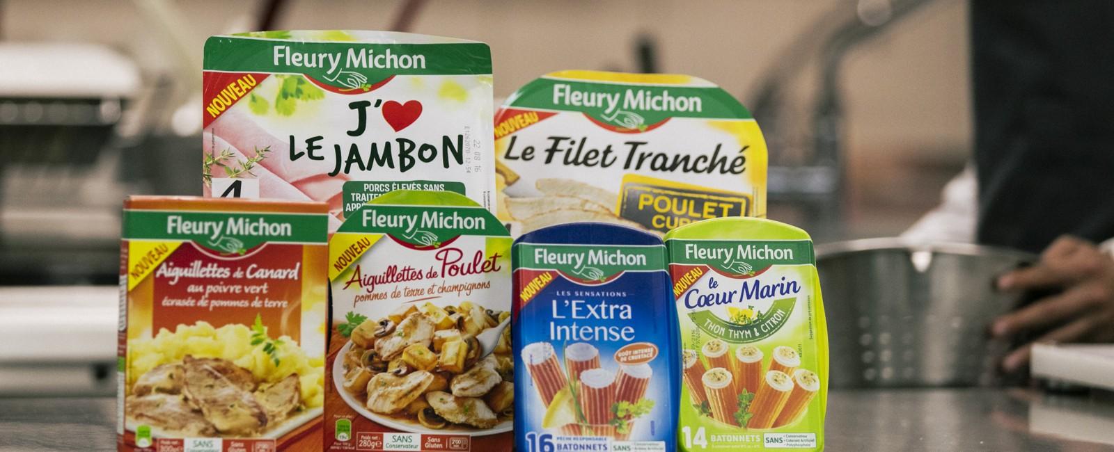 nouveautés produits surimi charcuteries traiteur fleury michon manger mieux