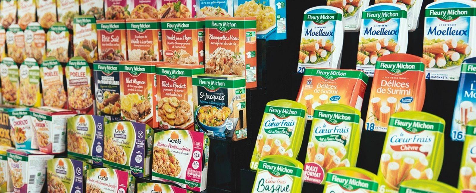 activités groupe fleury michon traiteur mer charcuteries gms international services alimentaires