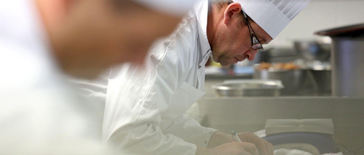 Un chef cuisinier en R&D Fleury Michon
