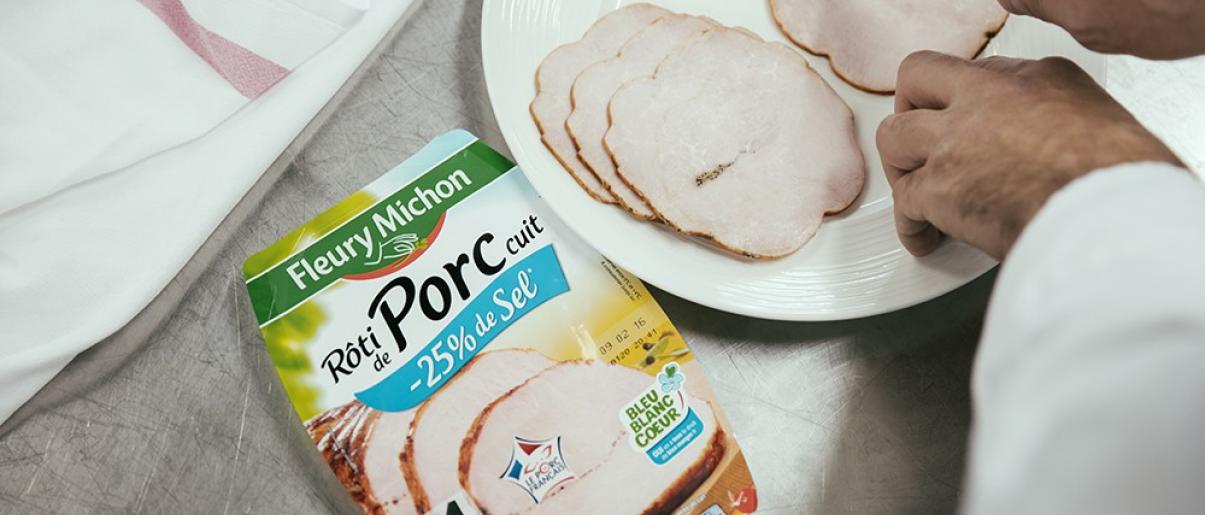 rôti de porc bleu blanc coeur 40 ans manger mieux fleury michon