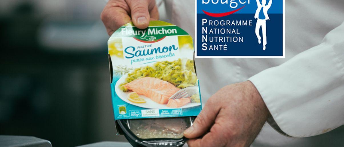 plats cuisinés saumon brocolis pnns manger bouger fleury michon 40 ans manger mieux