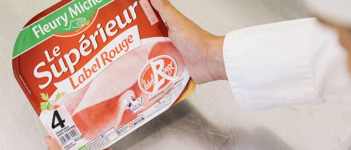 filière label rouge porc 40 ans manger mieux fleury michon