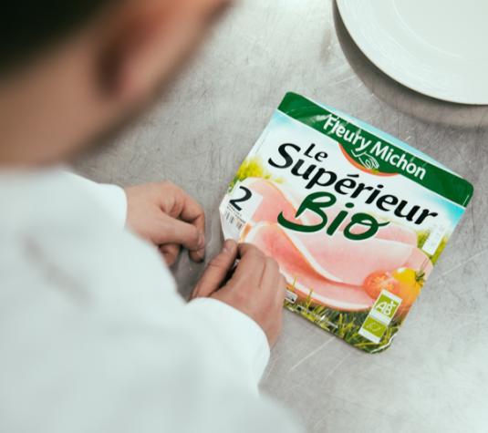 Jambon bio filière 40 ans manger mieux fleury michon