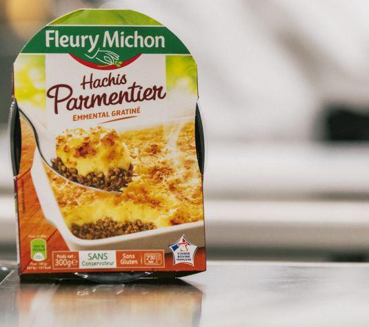 hachis parmentier viande bovine française 40 ans manger mieux fleury michon