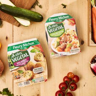 gamme végétale côté végétal Fleury Michon