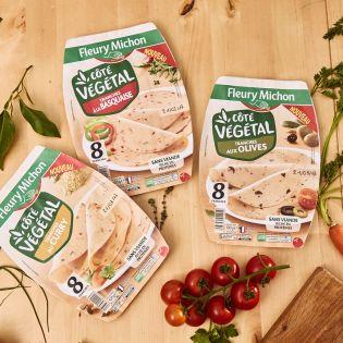 tranches végétales côté végétal Fleury Michon