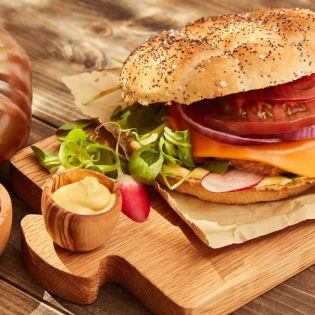 burger végétal steak soja côté végétal fleury michon