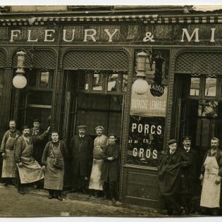 fleury michon histoire 1905 groupe gustave michon pierre fleury