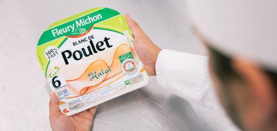blanc poulet halal produits manger mieux fleury michon