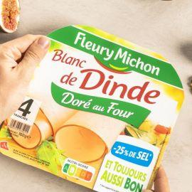 Blanc de dinde doré au four Fleury Michon