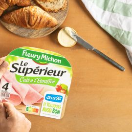Charcuterie sel réduit Fleury Michon : -25% de sel