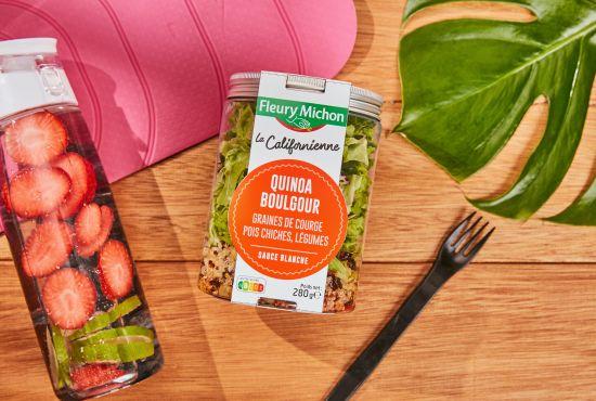 gamme salad jar fleury michon