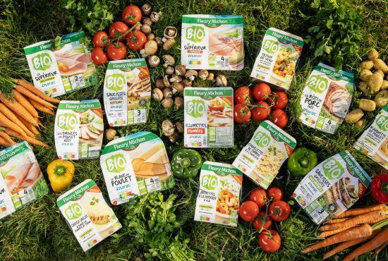 gamme produits bio fleury michon