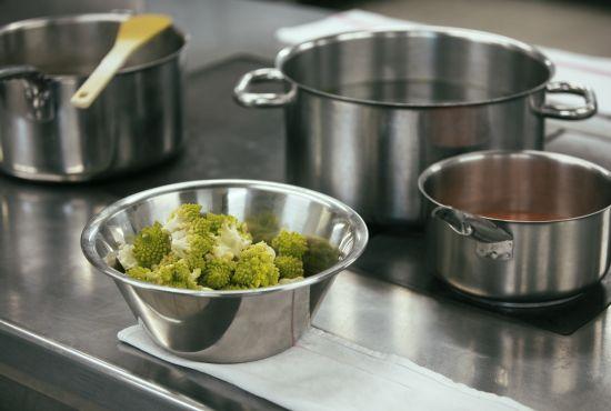 ingrédients pour la préparation d'un plat cuisiné