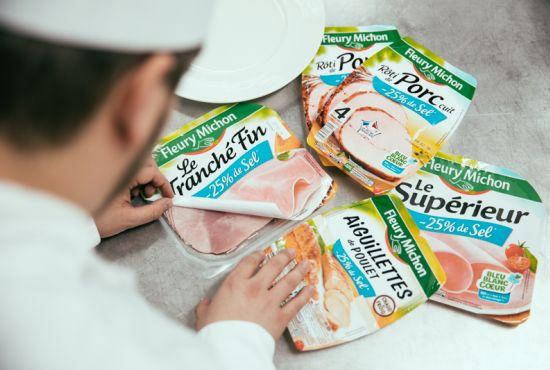 jambon sel réduit 25% manger mieux nutrition fleury michon