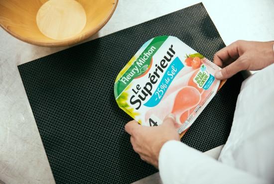 pôle gms grande surface jambon sel réduit charcuteries fleury michon manger mieux groupe