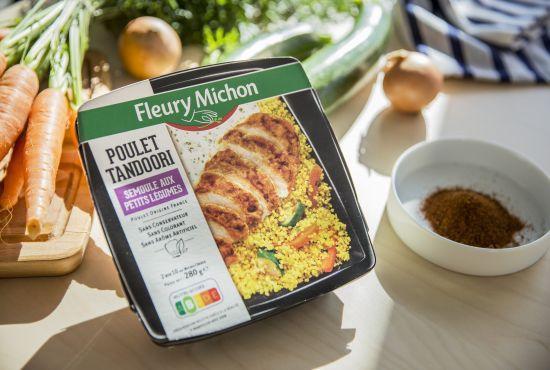Assiette plaisir Poulet Tandoori Fleury Michon