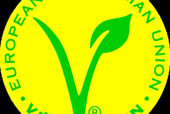 label végétarien