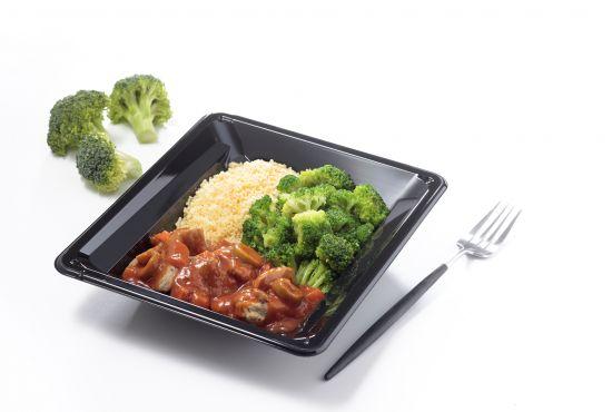 poulet sauce colombo riz aux petits légumes