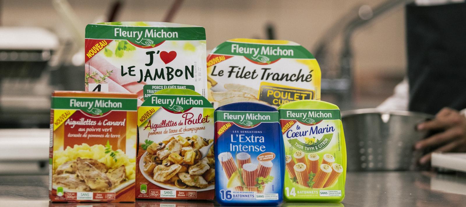 nouveautés produits boxs fleury michon manger mieux