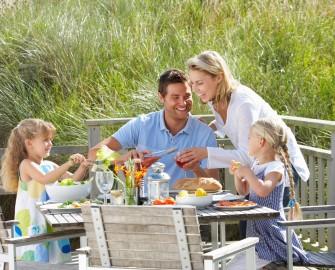 famille mange du bio fleury michon