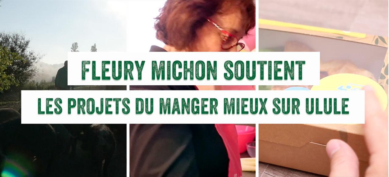 Fleury Michon soutient les projets Ulule