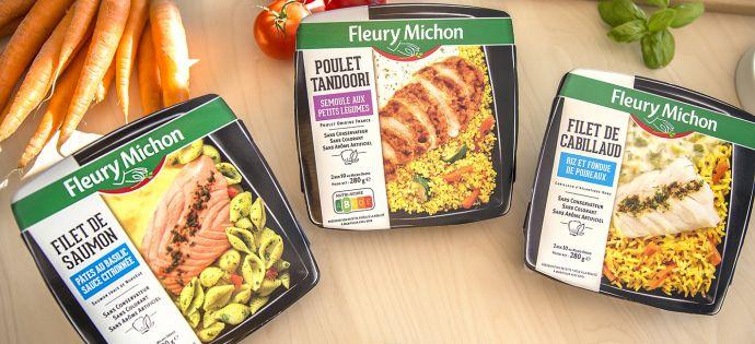 Assiettes plaisir Fleury Michon
