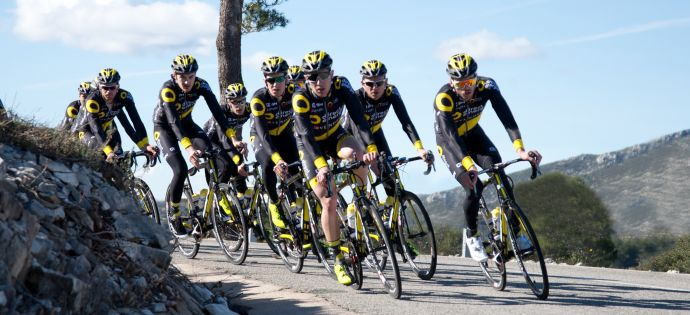EQUIPE CYCLISTE TEAM DIRECT ENERGIE