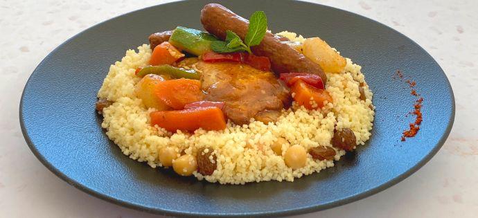Dressage couscous marocain étape 3