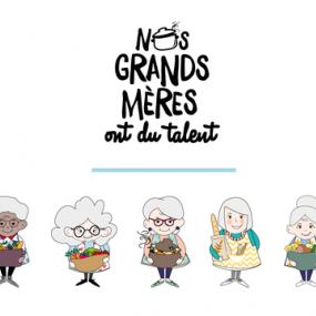 Nos grands mères ont du talent projet Ulule Fleury Michon
