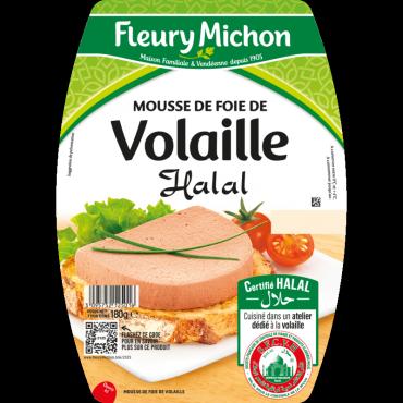 Mousse de foie de volaille halal