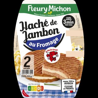 Le haché jambon au fromage La vache qui rit®