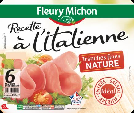 Jambon Recette à l'Italienne Nature