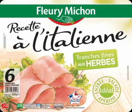 Jambon Recette à l'Italienne aux Herbes