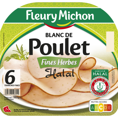 Blanc de Poulet aux Fines Herbes Halal