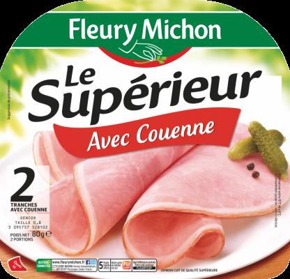 Jambon Le Supérieur Avec Couenne