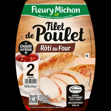 Filet de poulet rôti