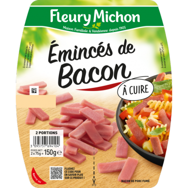 Emincés de bacon