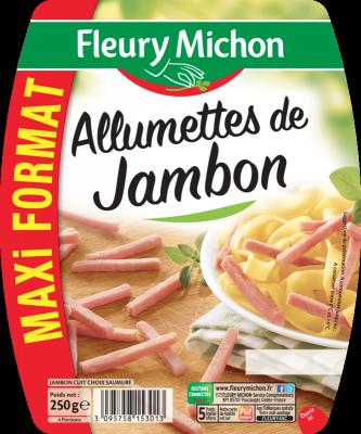 Allumettes de jambon