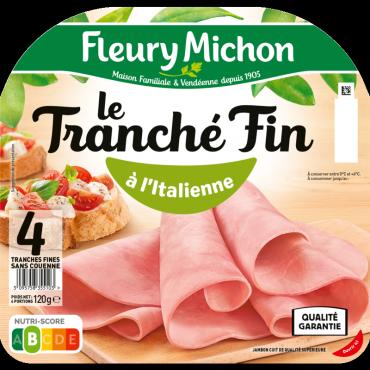 Jambon Le Tranché Fin à l'Italienne