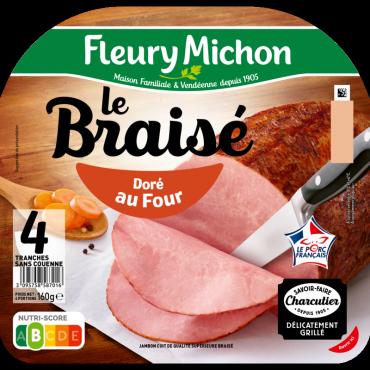 Jambon Le Braisé Doré au Four