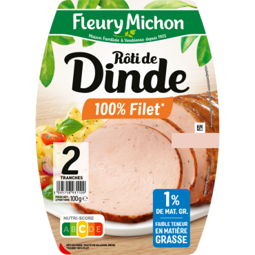 Rôti de Dinde cuit 100% filet