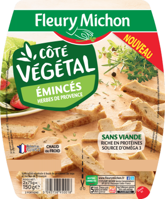 Emincés Côté Végétal Herbes de Provence
