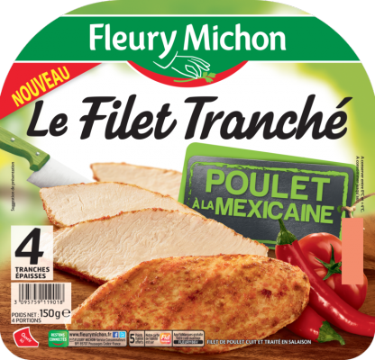 Filet Tranché Poulet à la Mexicaine