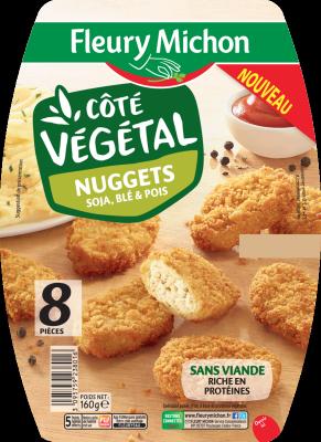 Nuggets Végétal aux soja, blé et pois