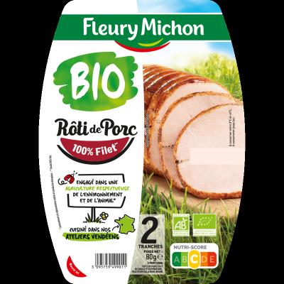 Rôti de Porc cuit BIO