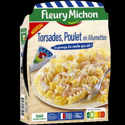 Torsades Poulet en Allumettes au fromage La vache qui rit®