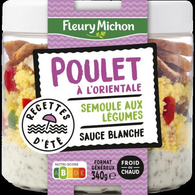 Poulet Conchiglie & Champignons à la Crème